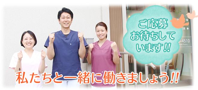 高知市えぐち鍼灸整骨院で一緒に働きましょう!