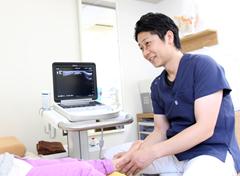 高知市 えぐち鍼灸整骨院:超音波エコー写真