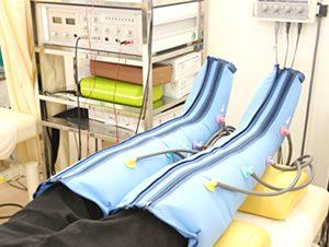 えぐち鍼灸整骨院のメドマーの施術の様子