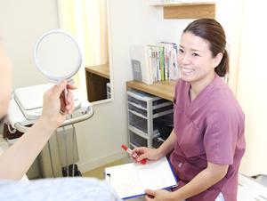 高知市えぐち鍼灸整骨院での美容鍼前の問診