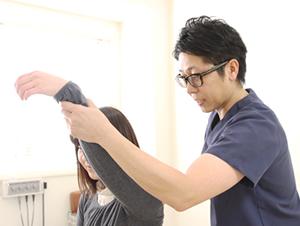 高知市えぐち鍼灸整骨院の肩こりの検査