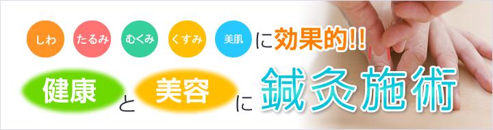 高知市にあるえぐち鍼灸整骨院の鍼灸は健康&美容に効果的です!