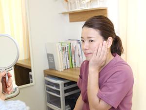 高知市えぐち鍼灸整骨院でのハリウッド式美容鍼施術後のセルフチェック